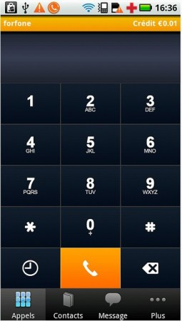 ForFone Dialing Pad