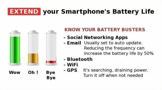 Battery Extender Tips