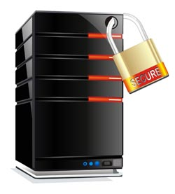 Dedicated-hosting secure-server