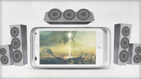 HTC radar Sound system