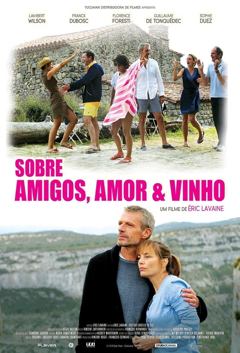 Poster do filme Sobre Amigos, Amor e Vinho