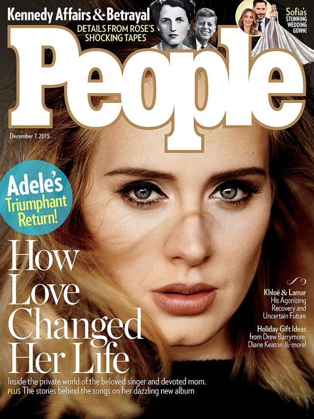 Adele - People Mag