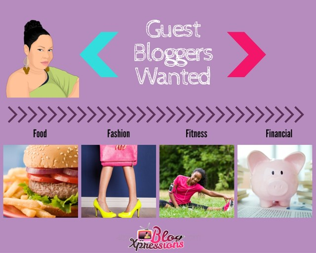 Guest Bloggers (The 4F's)