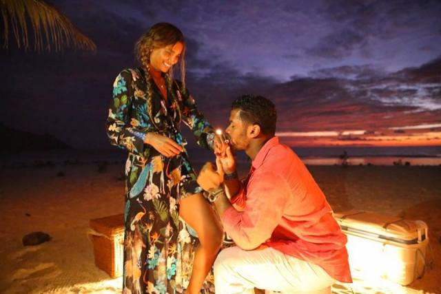 Ciara and Fiance, Russell Wilson