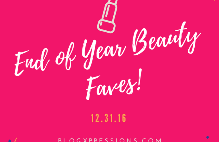 End of Year Beauty Faves
