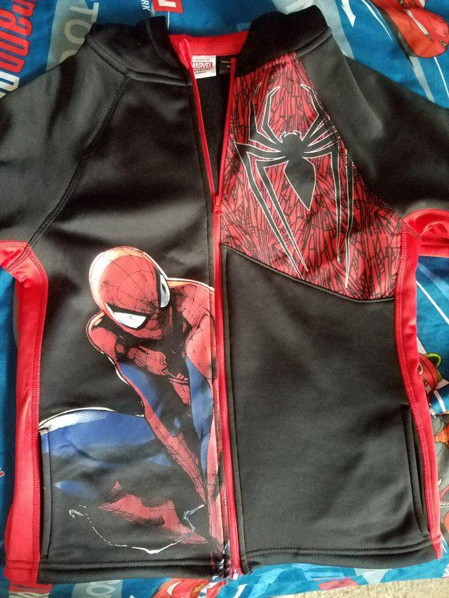 Jayden's Spider-Man Jacket!