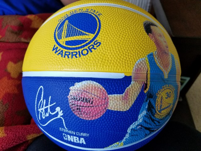 Stephen Curry Basketball – GSW