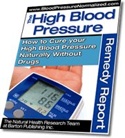 High Blood Pressure Home Cure