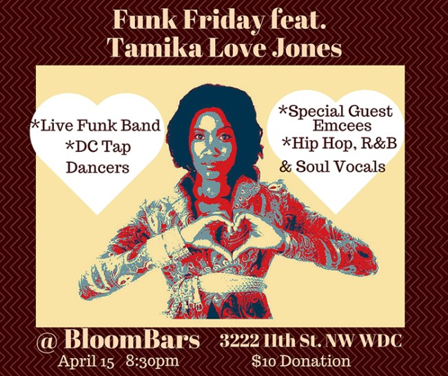 Funk Friday with Tamika Love Jones