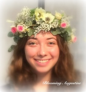 couronne et photo Blooming Augustine