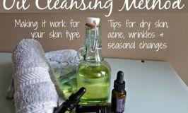 Oil Cleansing Method by skin type