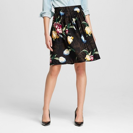 Women's Floral Printed Scuba Skirt - Isani for TARGET $54.99