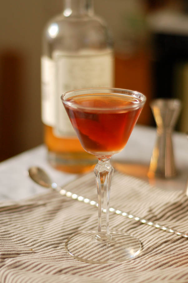 The Martinez Cocktail. A predecessor to the martini featuring Old Tom ...