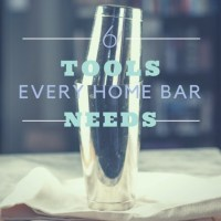 Basic Bar Equipment: 6 Things Every Home Bar Should Have #cocktailbasics