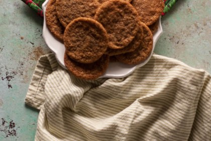 Chewy Citrus Molasses Spice Cookies. Simple fragrant chewy cookies that taste like Christmas. From Blossom to Stem | Because Delicious | www.blossomtostem.net