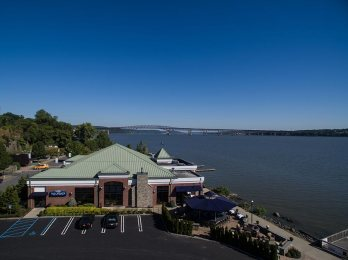 Blu Pointe offers views of the Hudson River and Newburgh Beacon Bridge