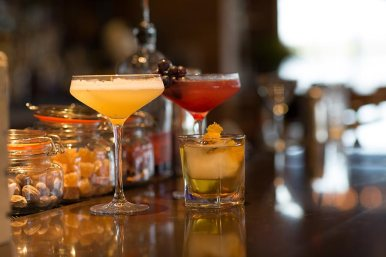 Enjoy a signature drink in our lounge