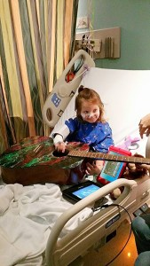 Aubrey and Guitar