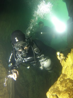 Cave Diving in Thailand March 2014 -GOPR1595