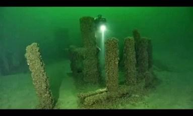 Podwodne formacje skalne z jeziora Michigan z czasów Stonehenge?