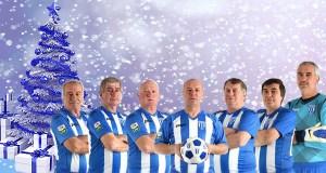 sarbatori fericite in alb albastru