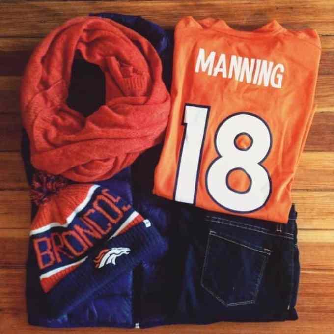 Denver Broncos Game Day Outfit