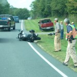 Accident: Motorcycle vs. Truck @ Rt. 151 near Bland Wade Ln.