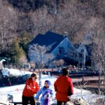 Wintergreen : Tourism Brisk Over Christmas - New Year's Holiday