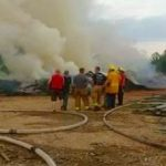 Nelson : Large Response To Fire in Arrington