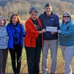 Bold Rock & Wintergreen Resort Present Over $3000 To Nelson County Community Fund