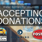 Foster Fuels Hosting Drive :  Water Bottles For Houston