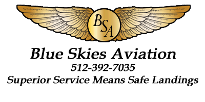 Blue Skies Aviation Logo
