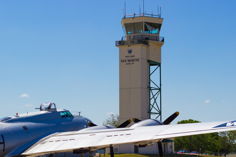 Hangar Space and Aircraft Cleaning with Blue Skies Aviation at KHYI San Marcos Texas