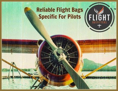 Flight Outfitters Pilot Flight Bags with Emapa