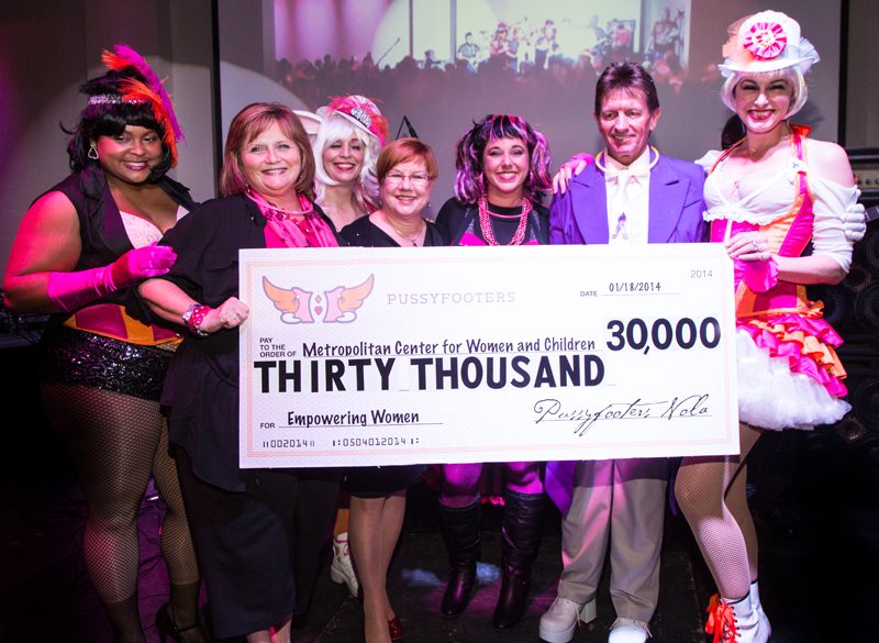 Over $30,000 was raised at Blush Ball 2014.