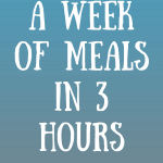 A Week of Meals in a Day