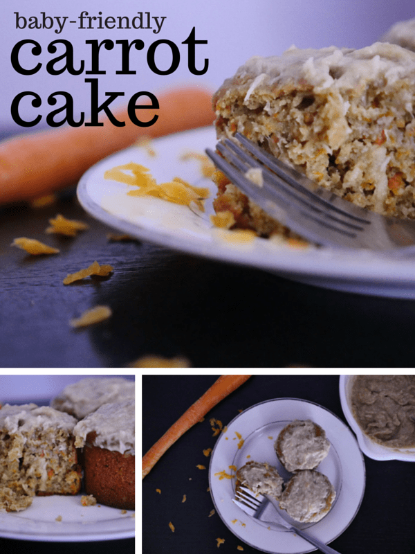 Baby Friendly Carrot Cake Muffins