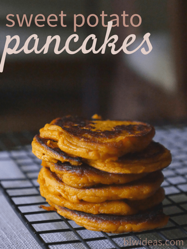 Easy sweet potato pancakes bethany king easy sweet potato pancakes ccuart Image collections