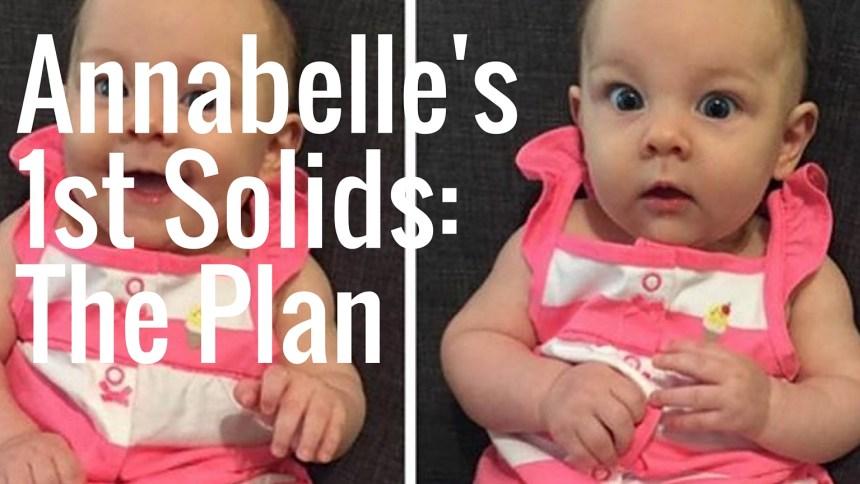 annabelles 1st solids