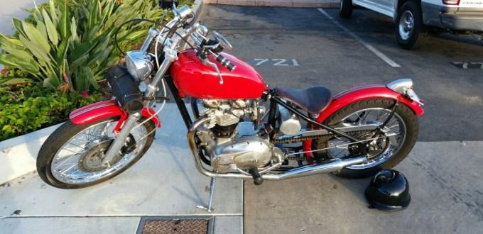 Jim L's Bobber ('70 Triumph)