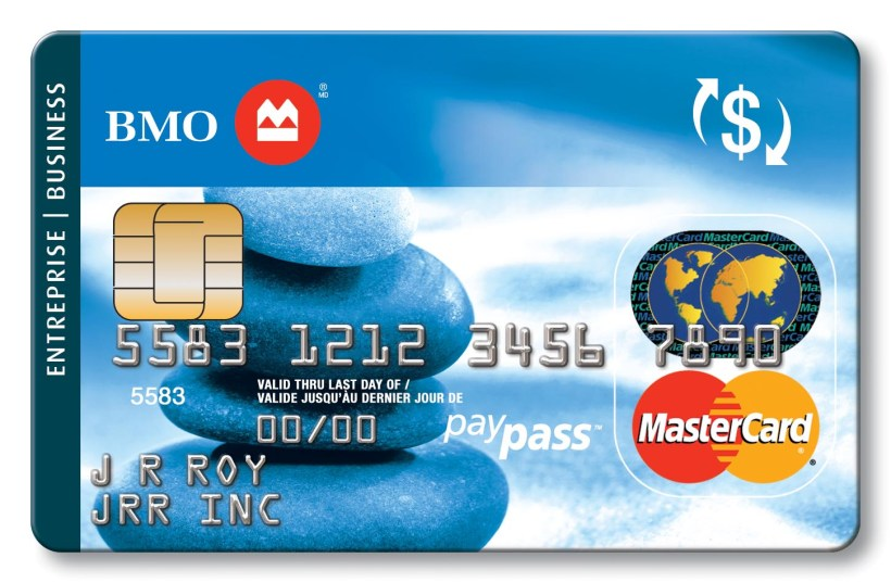 Bmo prepaid travel card review yoktravels business credit cards bmo bank of montreal reheart Choice Image