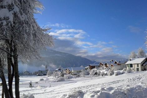 Snowy Laax