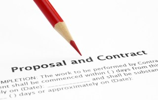 Proposal and contract