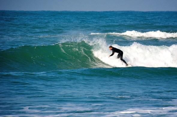 Surfen bij Lafitenia