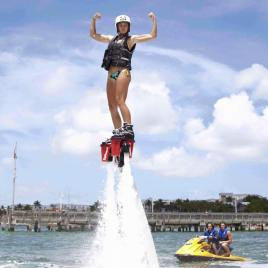 Flyboarding Session