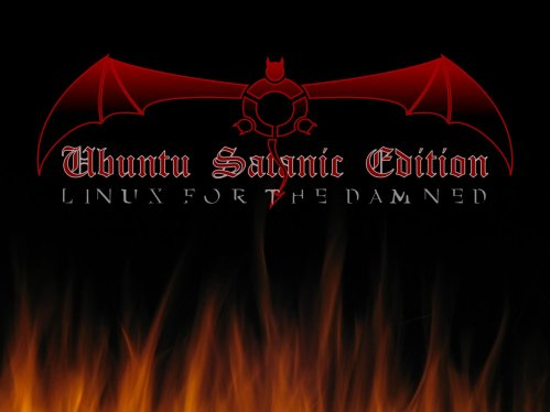 Ubuntu-satanic-edition-wallpaper