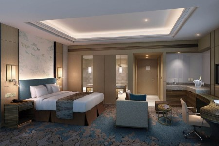 aedas doubletree by hilton contemporary hotel interior design modern hospitality projects master bedroom