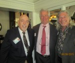 Tiger Bay Club Pres, Barry Epstein, Jeff Brown and David Goldstein