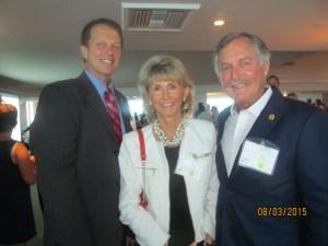 John Kelly,FAU Pres., Pat and Rick Howard of Sklar Furnishings