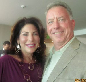 Robin Trompeter and Andrew Scott, former Boca Police Chief